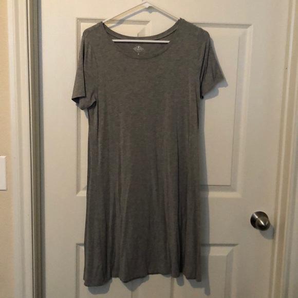 St. John's Bay Dresses & Skirts - St. John's Bay Grey Dress